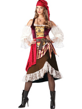 Anime Costumes AF-S2-480817 Halloween Women's Caribbean Pirate Costume