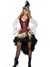 Anime Costumes AF-S2-480849 Halloween Caribbean Pirate Costume For Woman