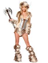 Anime Costumes AF-S2-480877 Halloween Faux Fur Woman's Hunter Costume