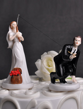 Couple Figurine Cake Topper For Wedding