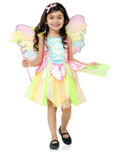 Anime Costumes AF-S2-482755 Girl's Fairytale Costumes With Rainbow Pattern
