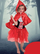 Anime Costumes AF-S2-482753 Little Red Riding Hood Costumes For Kids