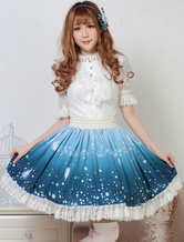 Sweet Lolita Skirt Wizard Of The Night Kawaii Lolita SK Lolita Skirt