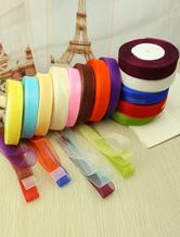 Rubans colorés pour mariage en nylon