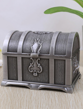 Jewelry Box with Lion Pattern