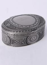 Oval Jewelry Box