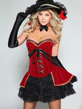 Anime Costumes AF-S2-489827 Red Duke Halloween Cosplay costume