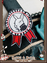 Lolitashow Accessoire lolita multicolore à motif lapin