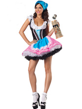 Anime Costumes AF-S2-503711 Halloween Beer Serve Girl Costume
