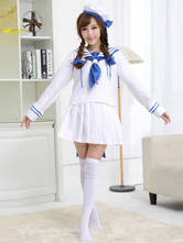 Anime Costumes AF-S2-503707 Halloween Woman's Sailor Costume