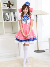 Anime Costumes AF-S2-503719 Halloween Woman's French Maid Costume