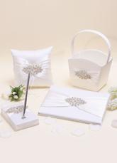 Wedding Collection Set with Rhinestone (Set of 4)