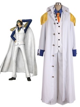 Anime Costumes AF-S2-509365 One Piece Aokiji Cosplay Costume One Piece Marines Cosplay