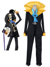 Anime Costumes AF-S2-509361 One Piece Brook Halloween Cosplay Costume