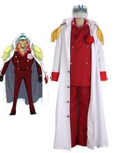 Anime Costumes AF-S2-509369 One Piece Sakazuki Halloween Cosplay Costume One Piece Marines Cosplay