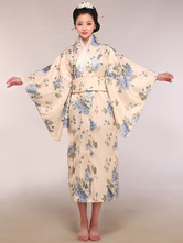 Anime Costumes AF-S2-509903 Beige Women's Japanese Kimono Costumes