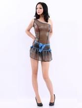 Anime Costumes AF-S2-512711 Transparent One-Shoulder Latex Dress