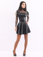Anime Costumes AF-S2-512735 Black Sweet Latex Dress