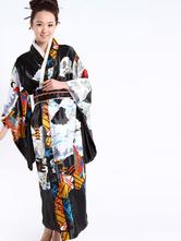 Anime Costumes AF-S2-513721 Black Romantic Women's Kimono Costumes