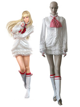 Anime Costumes AF-S2-525655 Tekken 6 Lili White Lolita Dress Game Cosplay Costume