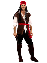 Anime Costumes AF-S2-531057 Halloween Pirate Costume Pirates of the Caribbean for Man