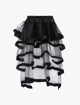 1950-е годы Старинная юбка из петтикота с многоуровневой кринолинской юбкой