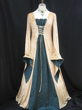 Anime Costumes AF-S2-532761 Halloween Classic Gold Synthetic Women's Cool RoyalGame of Thrones Costume