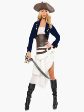 Anime Costumes AF-S2-534683 Halloween Pirate Costume Pirates of the Caribbean Costume Cosplay for Female