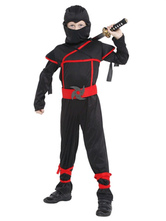 Anime Costumes AF-S2-534919 Halloween Black Ninja Costume for Kids Teenage Mutant Ninja Turtles Costume Cosplay