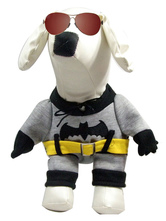 Anime Costumes AF-S2-536987 Gray BatmanOne Piece Pets Costume