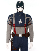 Anime Costumes AF-S2-538657 Captain America Steven Cosplay Costume