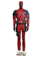 Anime Costumes AF-S2-538661 Deadpool Wade Wilson Halloween Cosplay Costume Deluxe Edition