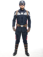 Anime Costumes AF-S2-538653 Captain America Steven Rogers Cosplay Costume  Marvel's The Avengers  Halloween Cosplay Costume