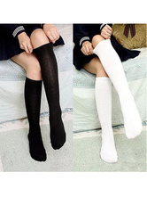 Cosplay Socks For Girls High Quality Solid Halloween