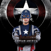 Anime Costumes AF-S2-540699 Captain America Steve Rogers Cosplay Costume
