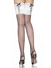 Anime Costumes AF-S2-540787 Halloween Sexy Lace Net Maid Stockings