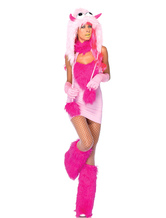 Anime Costumes AF-S2-542041 Halloween Indoor Woman's Fantasy Chameleon Costume