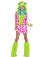 Anime Costumes AF-S2-542035 Halloween Quality Woman's Dinosaur Costume