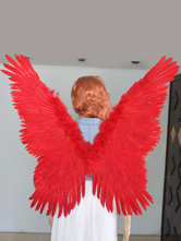 Anime Costumes AF-S2-542979 Halloween Solid Color Angel's Wings Costume Accessories