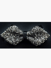 Stylish Two-tone Polyester Men's Bow Tie