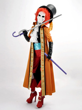 Anime Costumes AF-S2-545603 One Piece Brook Halloween Cosplay Costume