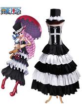 Anime Costumes AF-S2-545589 One Piece Perona Halloween Cosplay Costume Halloween Ghost Princess Perona Cosplay