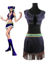 Anime Costumes AF-S2-545597 One Piece Nico Robin Halloween Cosplay Costume