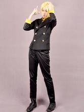 Anime Costumes AF-S2-545601 One Piece Sanji Halloween Cosplay Costume