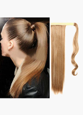 Anime Costumes AF-S2-546951 Magic Tape Long Straight Ponytail Extension 24 Inches In multi-Color