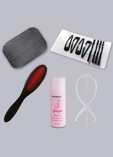 Anime Costumes AF-S2-548537 5pc Wigs Care Solution Full Sets