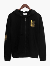 Anime Costumes AF-S2-549393 Attack On Titan Zipper Anime Hoodie