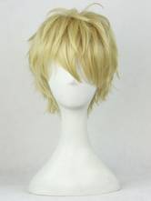 Anime Costumes AF-S2-551583 One Punch-Man Genos Anime Wig