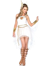 Anime Costumes AF-S2-552515 Halloween Sexy Asymmetrical Angel Costume