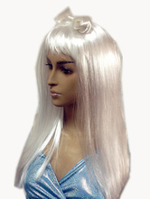 Anime Costumes AF-S2-553751 Halloween Lady Gaga White Wig